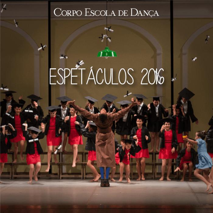 Espetáculos 2016