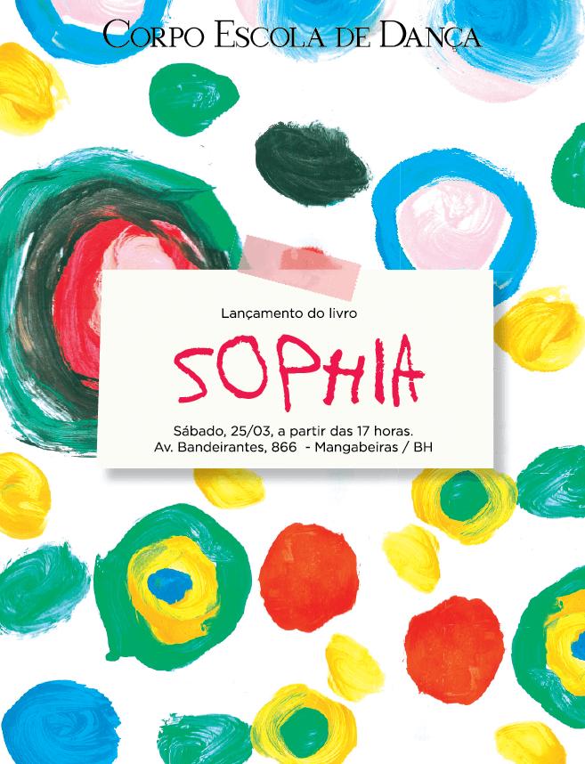 """Lançamento do livro """"Sophia – Um convite à imaginação"""""""