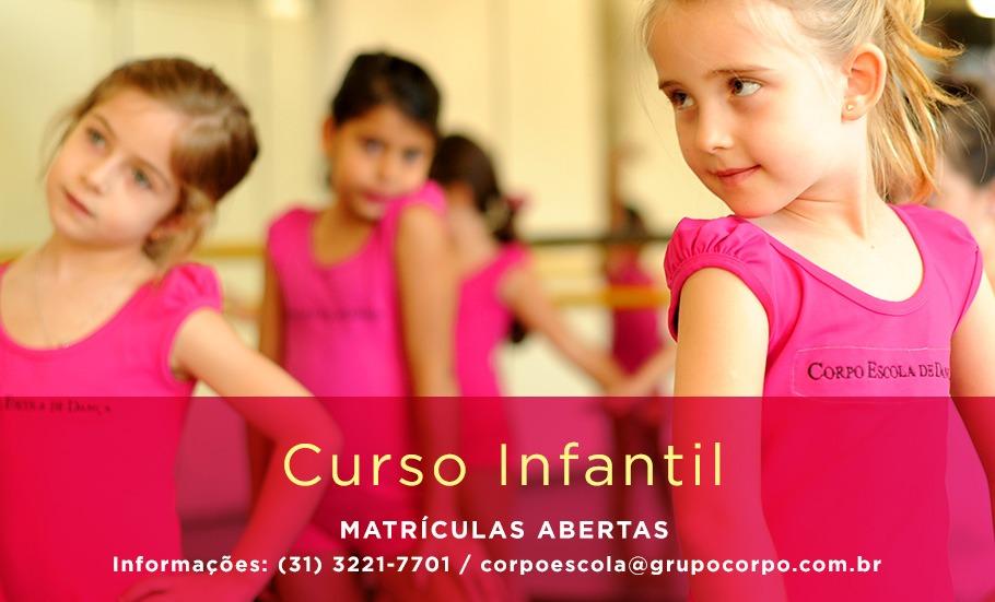 Curso Infantil – matrículas abertas