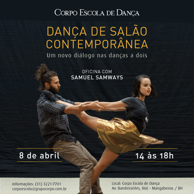 Oficina – Dança de Salão Contemporânea com Samuel Samways