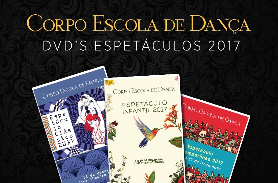 DVD's Espetáculos 2017