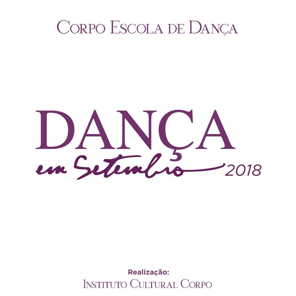 PROGRAMAÇÃO DANÇA EM SETEMBRO 2018
