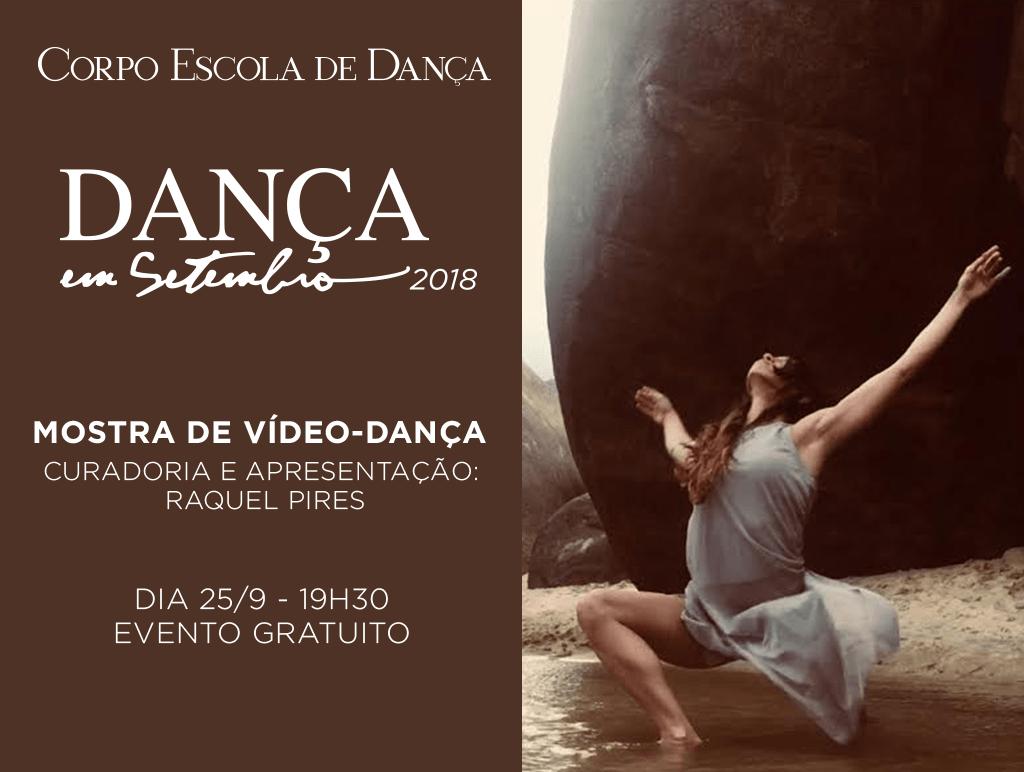 Trabalhos selecionados para a Mostra de Vídeo-Dança